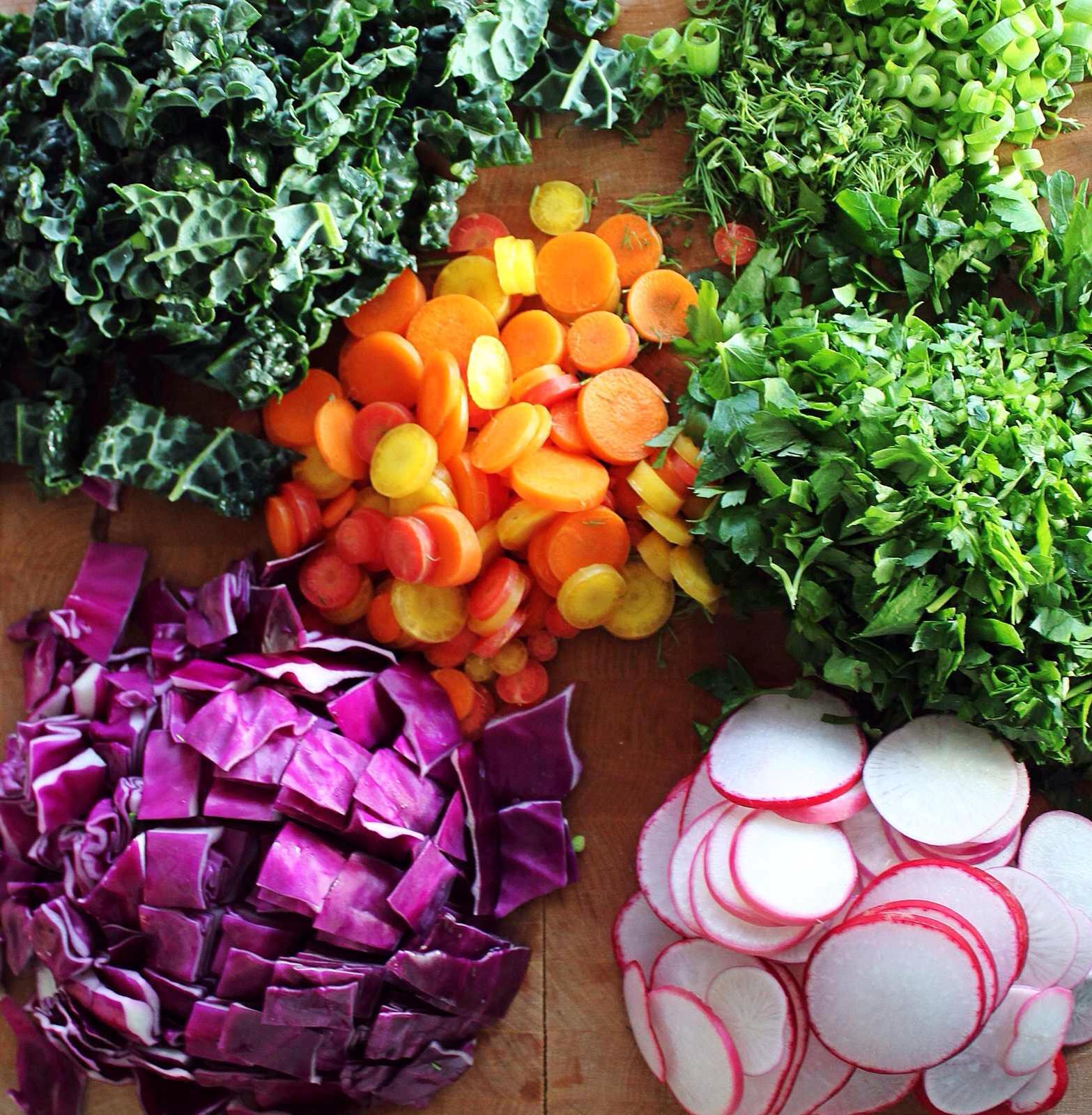 Wintery Spring Salad