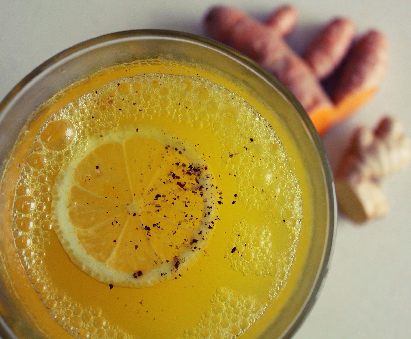 Turmeric & Ginger Tea | The Crushing Cancer Kitchen