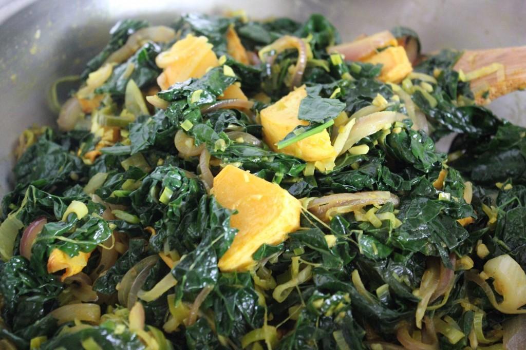 how to cook rutabaga greens