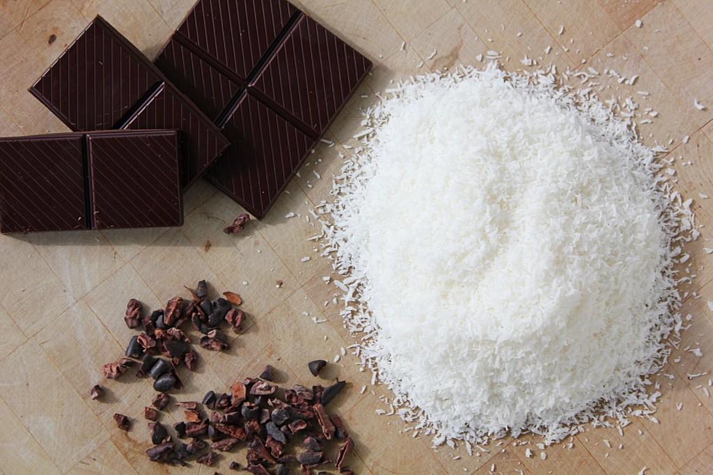 Raw Chocolate Coconut Fudge