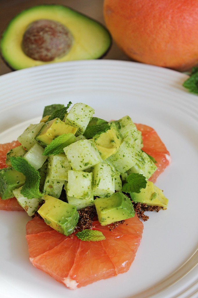 Jicama & Avocado Salad with Grapefruit