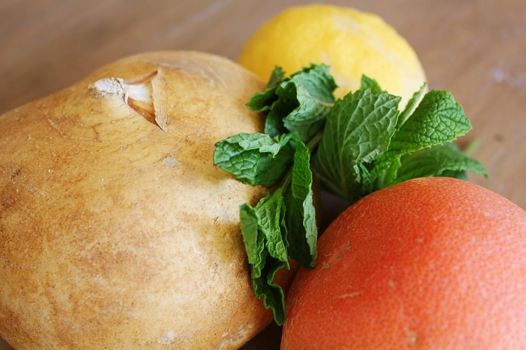 Jicama & Avocado Salad with Grapefruit