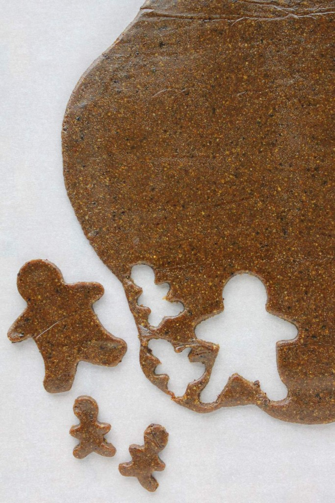 Almost Raw Gingerbread Men