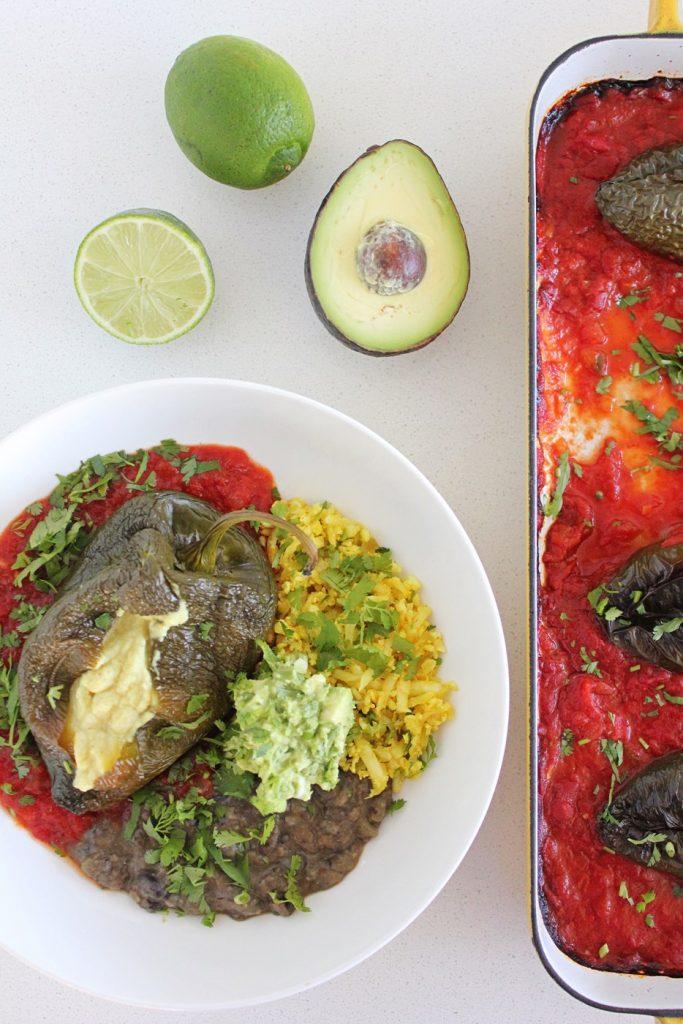 Vegan Chile Relleno