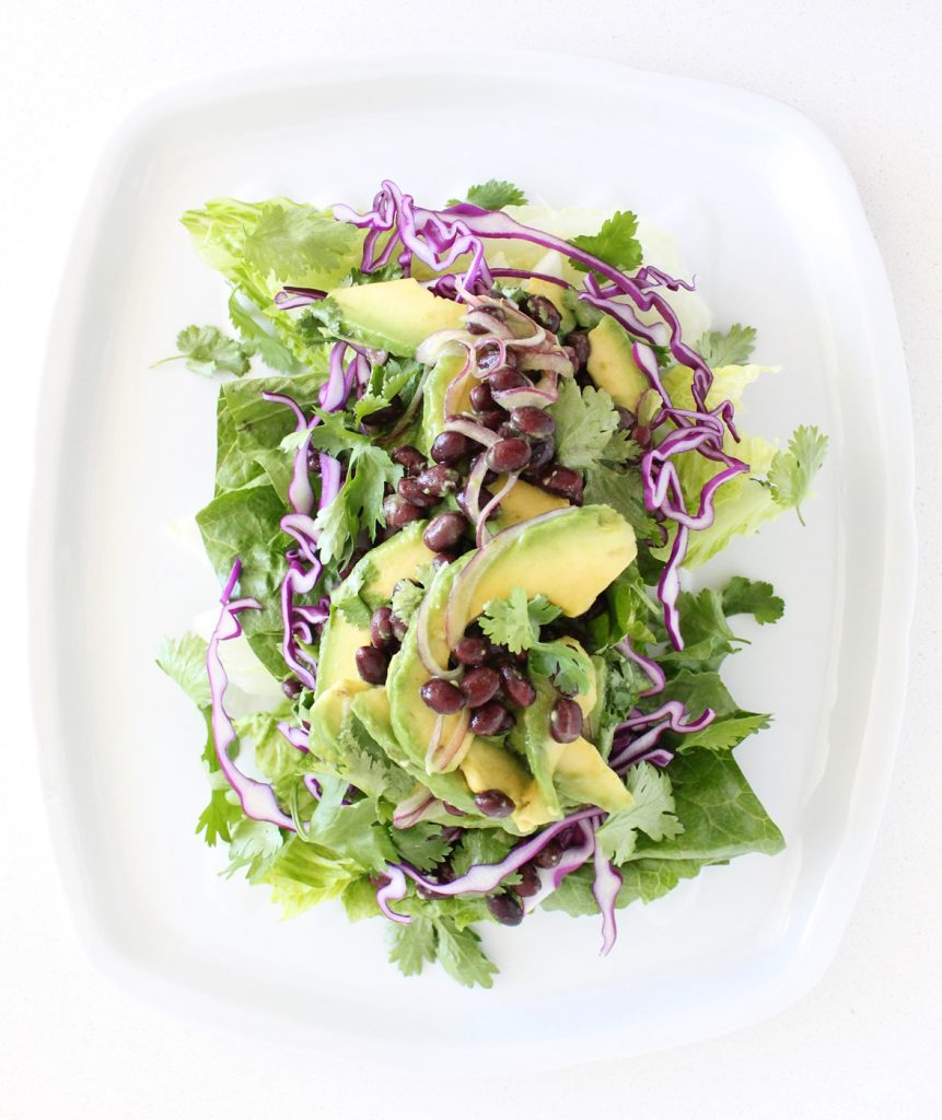 Avocado & Black Bean Salad