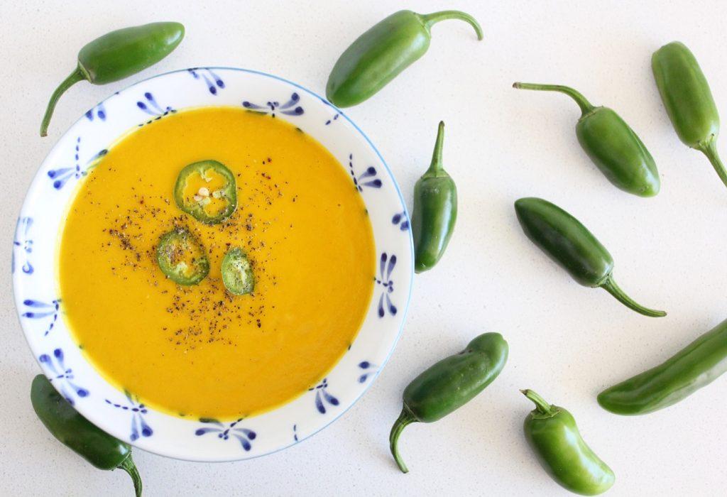 Carrot and Jalapeño Soup