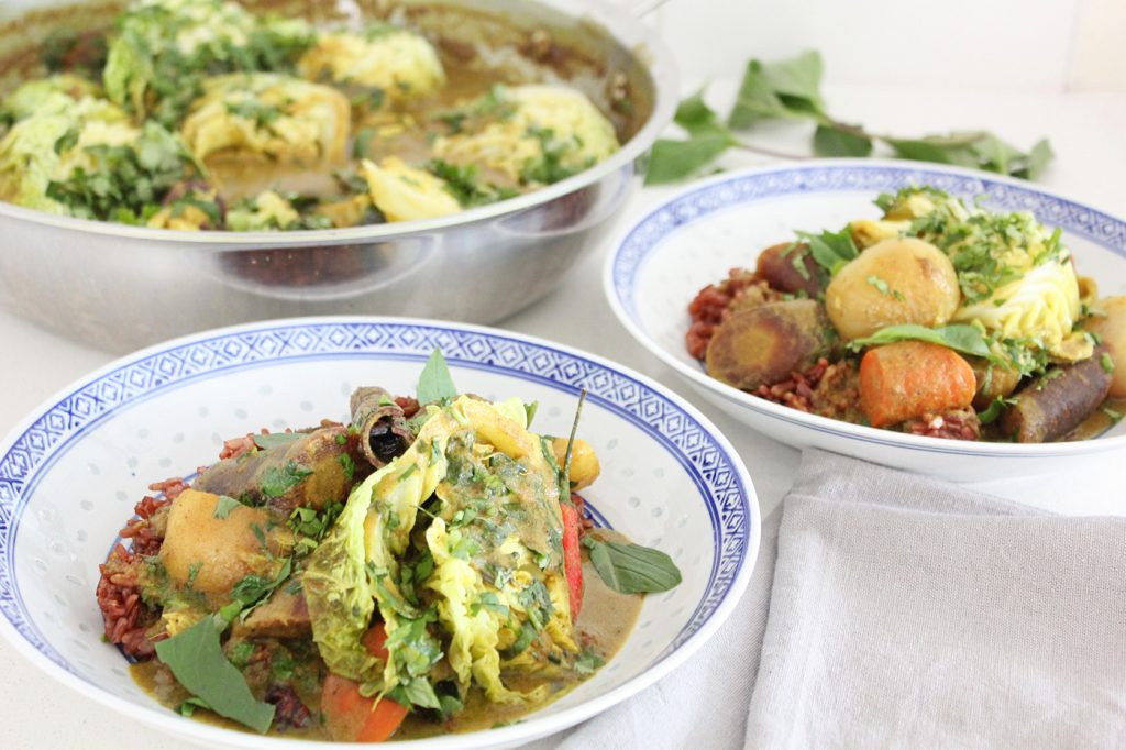 Plant-based Massaman Curry