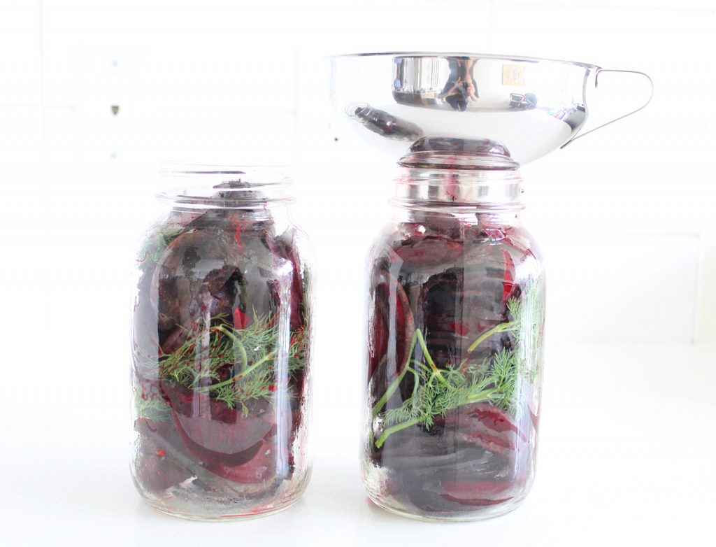 Dill Pickled Beets