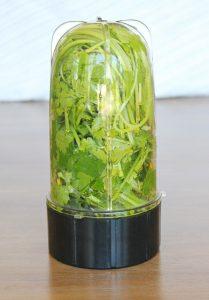 Fresh Chimichurri Sauce with Avocado Wedges