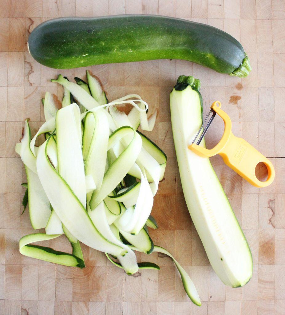 Zucchini Noodle Aglio e Olio