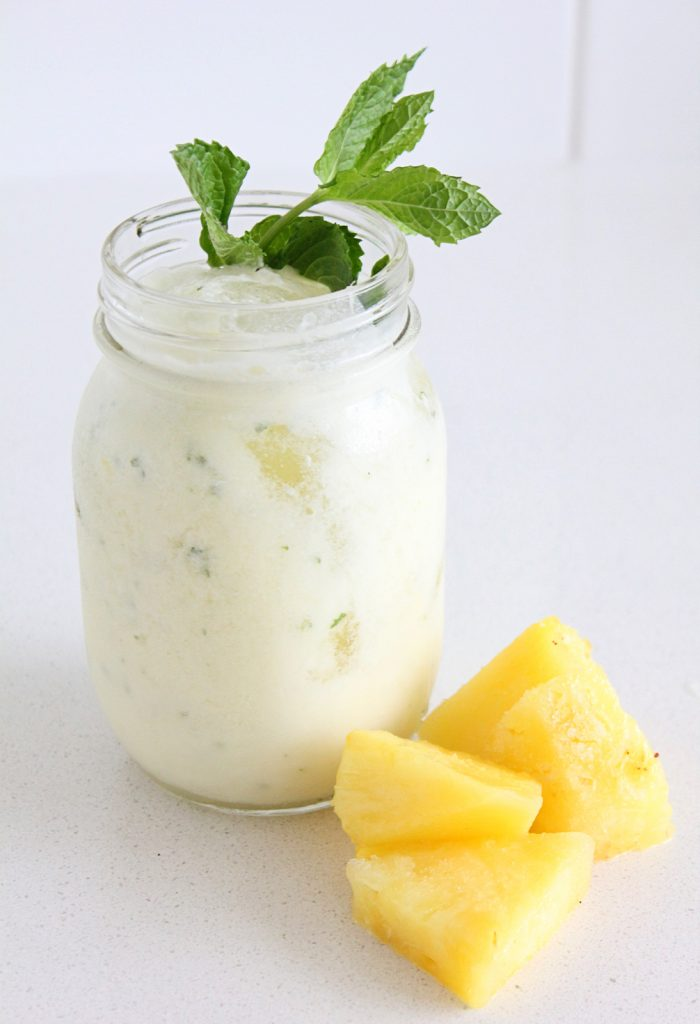 Pineapple Coconut Milkshake