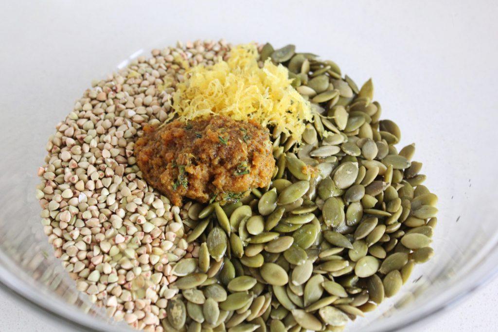 Savoury Buckwheat & Seed Granola